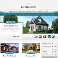 Tema ElegantEstate – Site Para Imobiliária