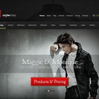 Tema StyleShop – Site Para Loja Virtual