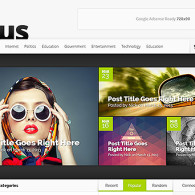 Tema Nexus – Site Para Revista Online