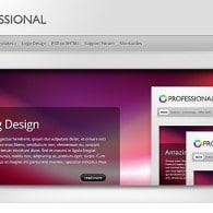 Tema TheProfessional – Site Para Empresas