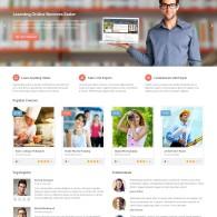 Tema Academy – Site Para Cursos Online