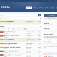 Tema JobRoller – Site de Empregos e Currículos
