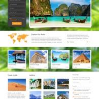 Tema Midway - Site para Agência de Turismo