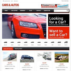 Tema Responsive Car Dealer