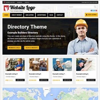Tema Responsive Directory - Site Para Guia Comercial