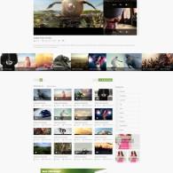 Tema BeeTube - Site Para Portal de Vídeos