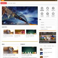 Tema Sahifa - Site Para Blog, Revista e Notícias
