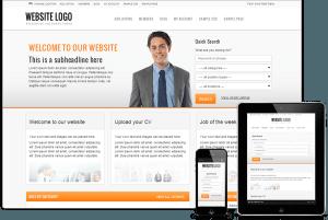 Tema Responsive Job Board - Site Para Vagas de Empregos