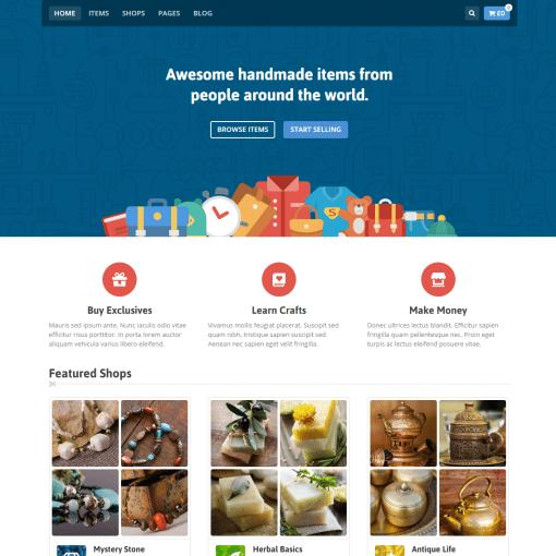 Tema Makery - Site Para Marketplace e Multi-Vendedores