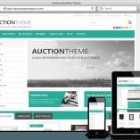 Tema Responsive Auction - Site Para Leilão Tradicional
